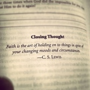 Motivation: Looking forward in faith!