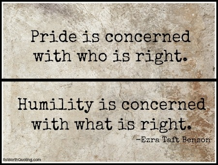 6 Lessons in Humility