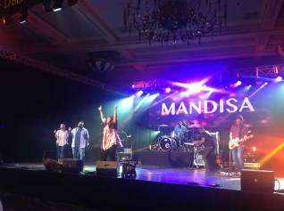 Mandissa rocked out Momentum on the last day!