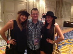 hanging out with couple of the girls from 1GirlNation