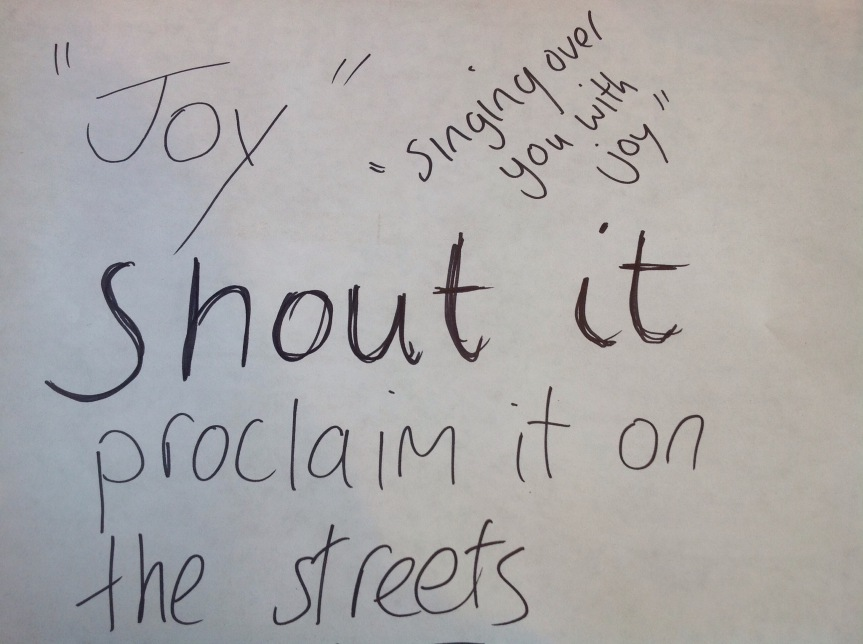 Shouts of Joy – Psalm 126