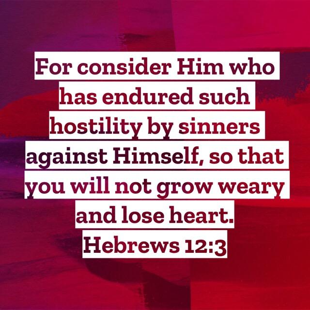 Keys to keeping focus – Hebrews12:1-3