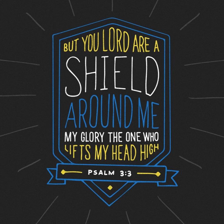 Scripture for Saturday – Psalm3:3